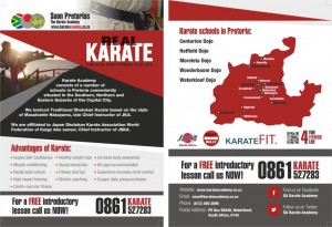 The Karate Academy A5 Leaflet PROOF